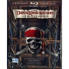 Пираты Карибского моря: Квадрология (5 фильмов, 9 blu-ray)