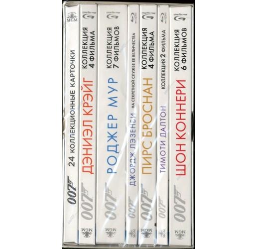 Бонд 50 + 007: Координаты «Скайфолл». Коллекция (24 Blu-Ray)