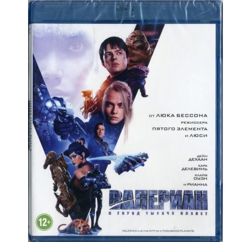 Валериан и город тысячи планет (Blu-Ray)