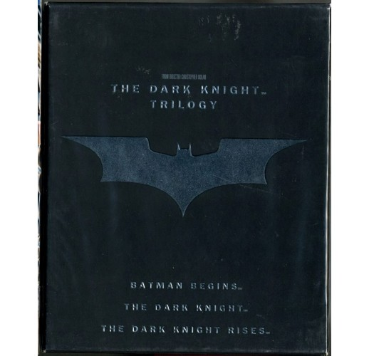 Темный рыцарь: Трилогия (5 Blu-Ray + книга) (5 Blu-Ray)