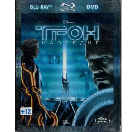 Трон: Наследие (Blu-Ray + DVD)