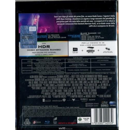 Бегущий по лезвию 2049 (2 Blu-Ray 4K Ultra HD)