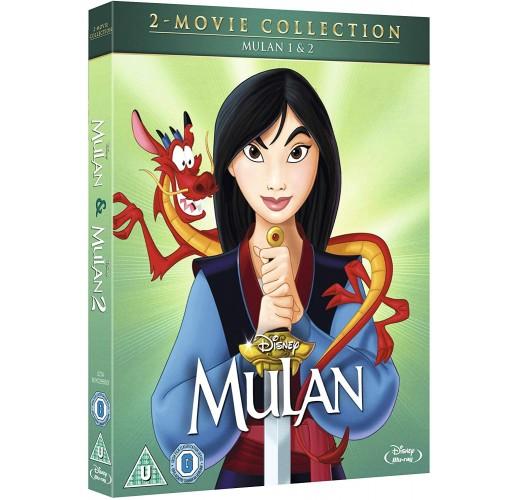 Мулан / Мулан 2 (Blu-Ray) /Импорт/
