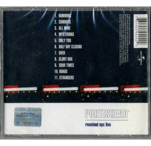 Portishead. Roseland NYC (CD)