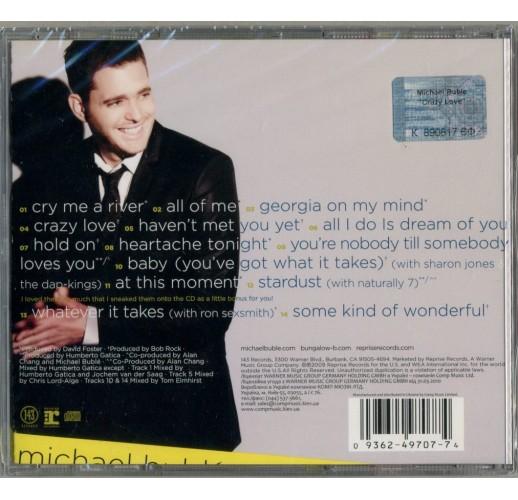 Michael Buble. Crazy love (CD)