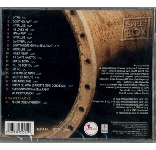 Sweetbox. Sweetbox (CD)