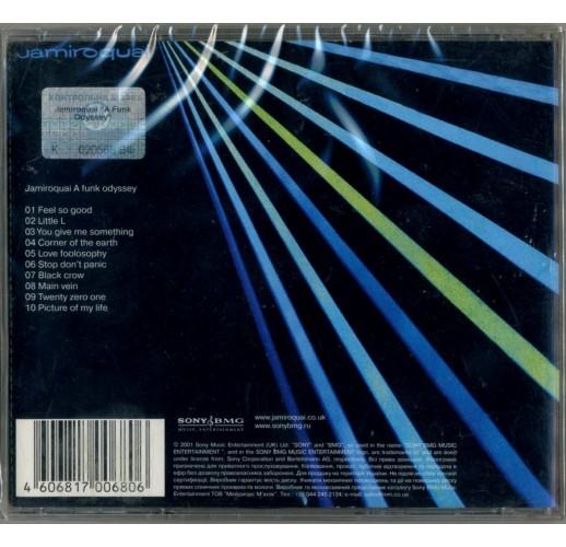 Jamiroquai.a funk odyssey (CD)
