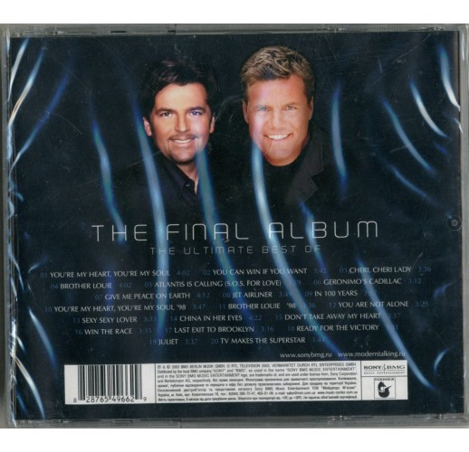 Modern Talking: The Final Album (CD)