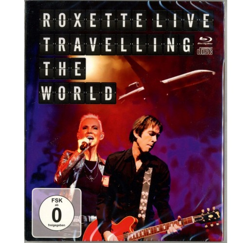 Roxette. Live - Travelling The World (Blu-ray)
